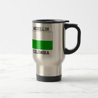 Medellin Colombia Stainless Steel Travel Mug