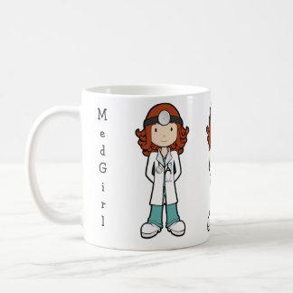 MedGirl Basic White Mug