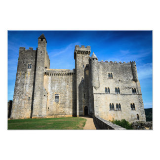 Mediaeval chateau de Beynac castle photo print