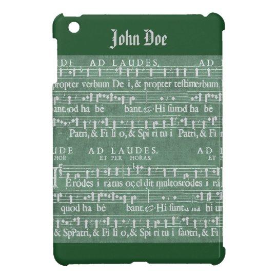 Mediaeval Music Manuscript iPad Mini Case