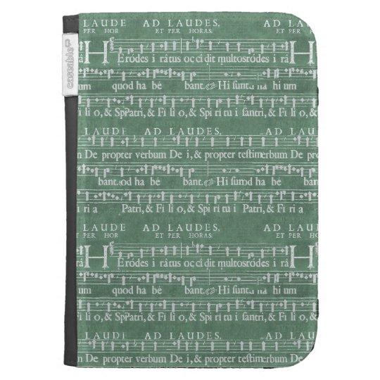 Mediaeval Music Manuscript Kindle Case