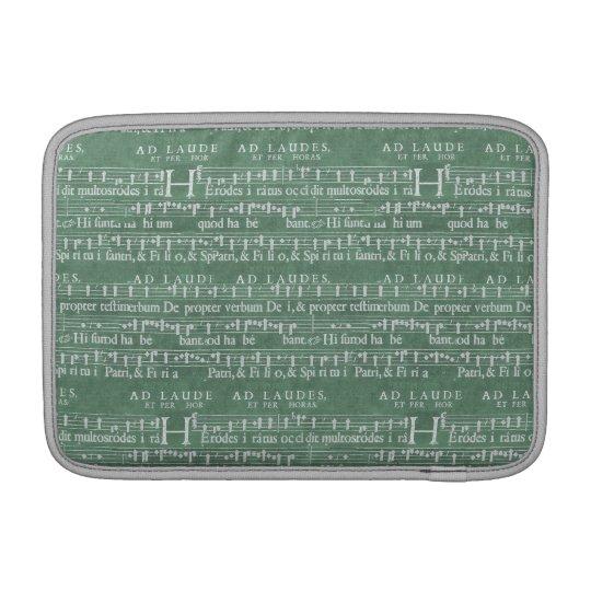 """Mediaeval Music Manuscript Macbook Air 11"""" Sleeve Sleeves For MacBook Air"""
