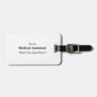 Medical Assistant Luggage Tag