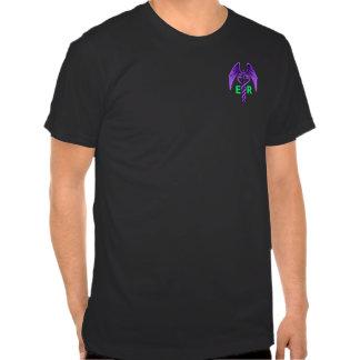 Medical Caduceus Saving Lifes Purple Ladies Shirt