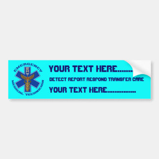 Medical EMT Universal View Notes Important Bumper Sticker