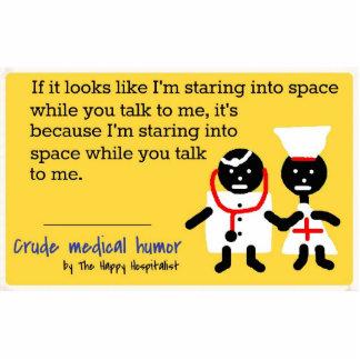 Medical Humor Photo Sculpture Key Ring