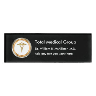 Medical Professional Name Plates