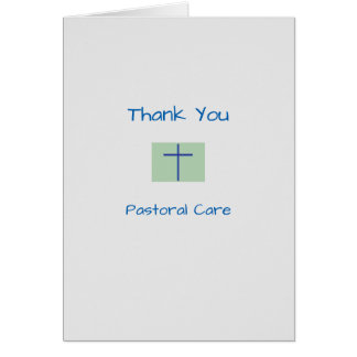 Medical Thank You Pastoral Care Card
