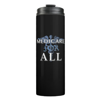 MEDICARE FOR ALL tumbler blk