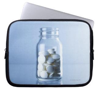 medicine in the bottle laptop sleeve