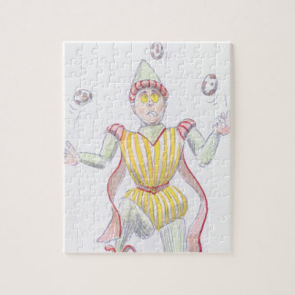 medieval baron juggling eggs jigsaw puzzle