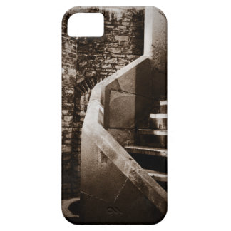 Medieval Castle Stairs of Cardiff Wales iPhone 5 Cover