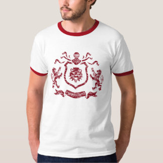 Medieval Coat of Arms - Ringed T-Shird T-Shirt