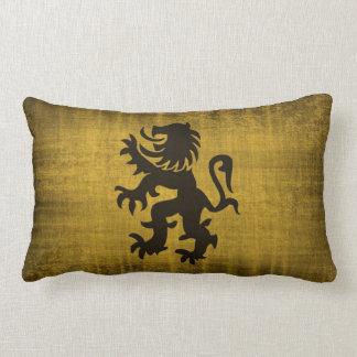 Medieval Gold Velvet Pillow