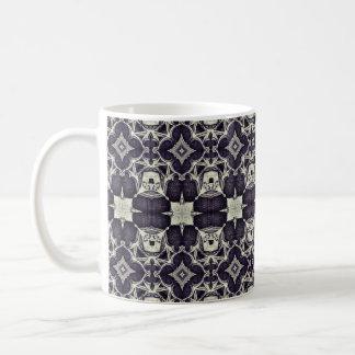 Medieval gothic print coffee mug