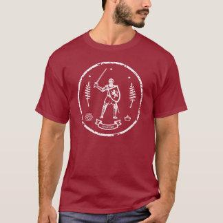 Medieval Knight Round Stamp T-Shirt