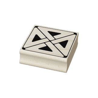 Medieval Knot Rubber Stamp