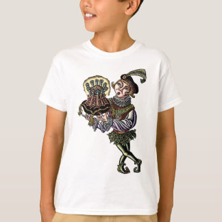 Medieval Page with Crown Roast T-Shirt