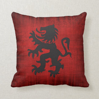Medieval Red Velvet Cushion