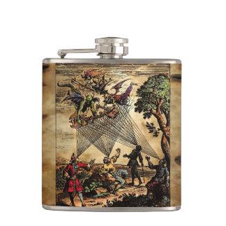 Medieval Spirit Minstrels Hip Flask