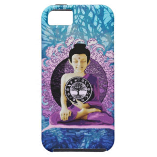Meditation and Peace Tree of Life Case For The iPhone 5