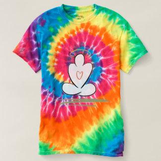 Meditation Man Harmony Tie-Dye Shirt of peace