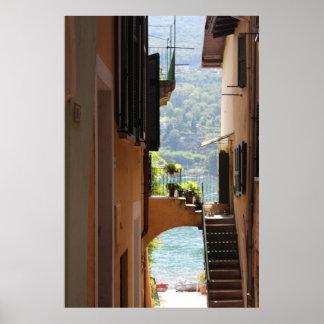 Mediterane architecture poster