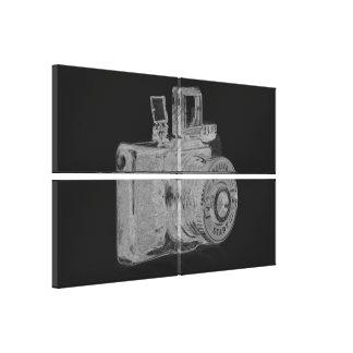 Medium format camera Art Fashion Canvas Prints