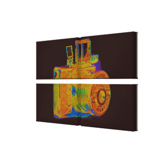Medium format camera Art Fashion Canvas Print