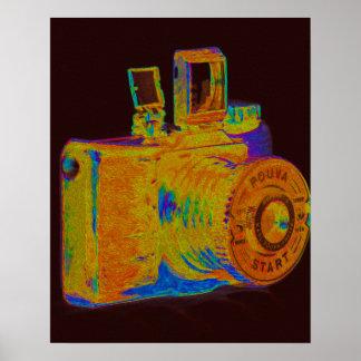Medium format camera Art Fashion Print