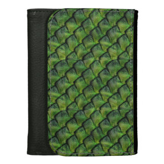 Medium Snake Skin Leather Wallet