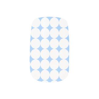 Medium White Polka Dot Minx Nail Art