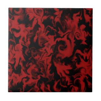 Meduim Red & Black mixed color tile