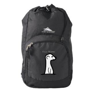 MeerKat White Backpack