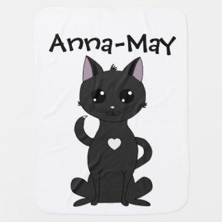 Meet Jolia the Cat Baby Blanket