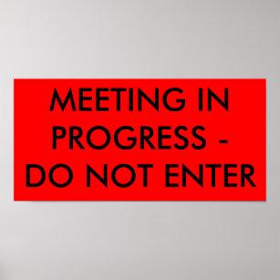 meeting in progress art wall décor zazzle co nz