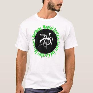 Megaciph T white T Green letters T-Shirt