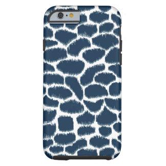 Megan Adams Animal Ikat Navy Tough iPhone 6 Case
