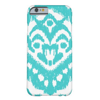 Megan Adams Zig Zag Ikat- turquoise Barely There iPhone 6 Case