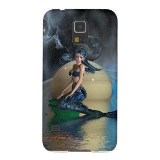 megan mermaid galaxy s5 cover