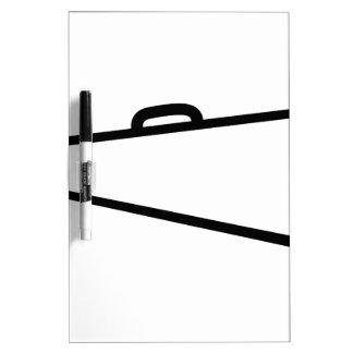 Megaphone Outline Dry Erase Whiteboard