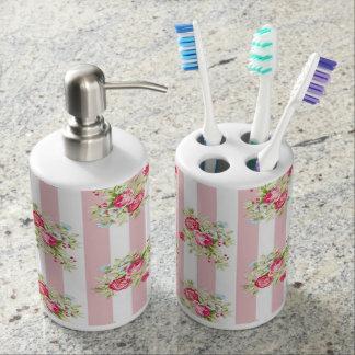 Meghan Cottage Chic Bathroom Accessories Bathroom Set