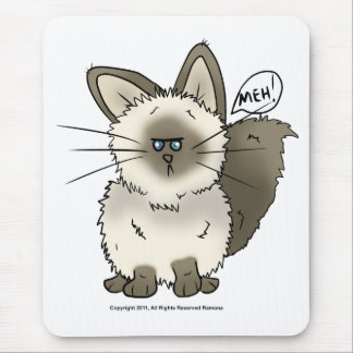 Meh Cat Mouse Pad