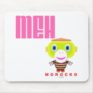MEH-Cute Monkey-Morocko Mouse Pad