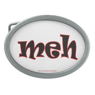 meh geek dork nerd text joke funny humor belt buckles