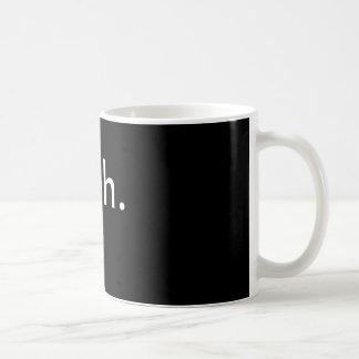 meh. mug. basic white mug