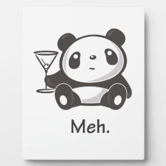 Meh Panda Plaque
