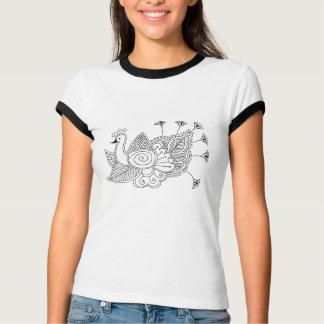 Mehendi Peacock T-Shirt