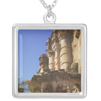 Meherangarh, the Majestic Fort, Jodhpur, Silver Plated Necklace
