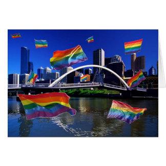 Melbourne, Australia Pride Card